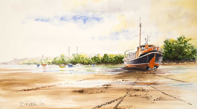 Retired Lifeboat, Ilfracombe