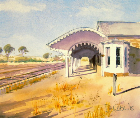 Old Burra Railway Station