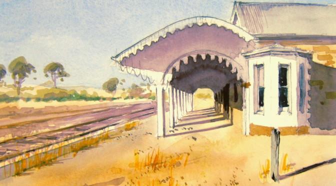 Old Burra Railway Station