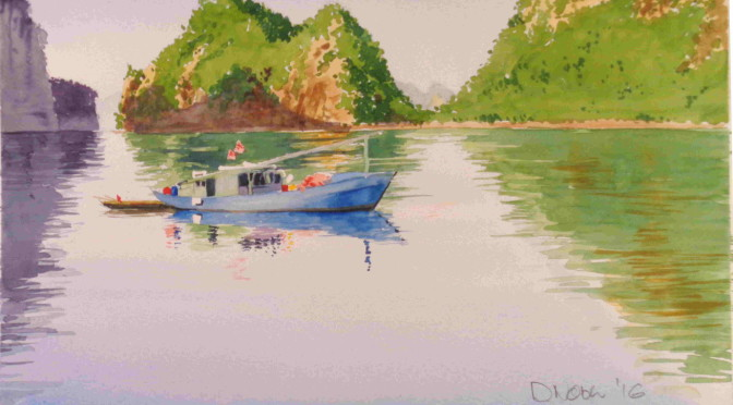 Halong Bay - Fishing Boat